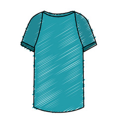 shirt clothes isolated icon vector image vector image