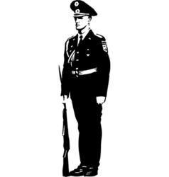 soldier01 design vector image
