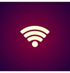 Wi-Fi network icon vector image