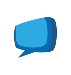 Bubble chat message communication icon vector
