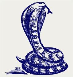 Snake sketch vector