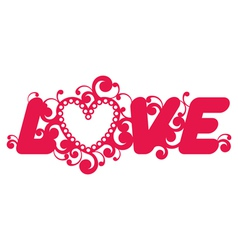 Love word vector