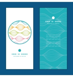 Colorful horizontal ogee vertical round vector