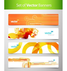 Web headers vector