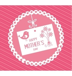 Happy mothers day design vector