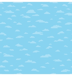 Seamless Clouds Background vector image