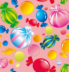 sweets and sugar candies vector image