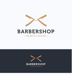 Barbershop logo vector