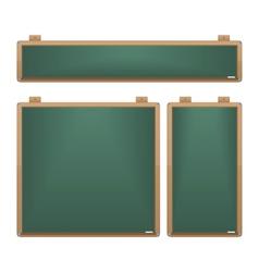 Chalkboard Set vector image