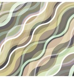 Wavy vintage background vector image