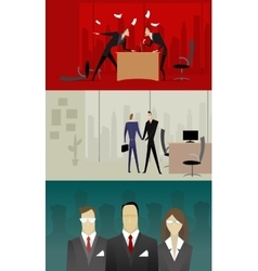 business relationship vector image vector image
