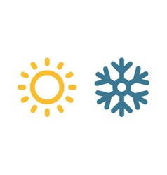 Climate Symbol vector image vector image