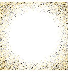 Gold glitter background fram vector