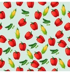 Grean peas pod vector