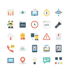Internet icons 5 vector