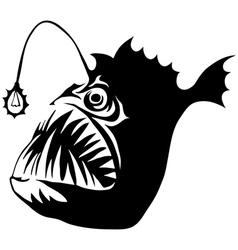 Angler Fish vector image vector image
