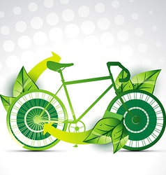 cycle background vector image