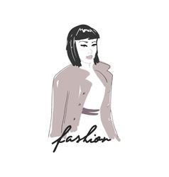 FashionWoman2 vector image vector image