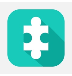 piece of the puzzle vector image vector image