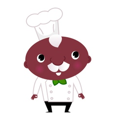 Cook cartoon vector