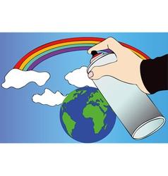 An idea of the world vector