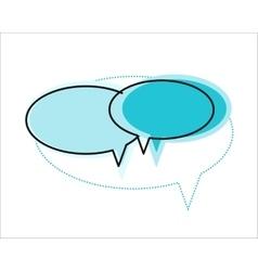 Dialog Windows Icon vector image vector image