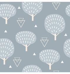 Seamless pattern in modern Scandinavian style vector image vector image
