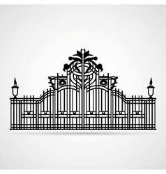 Ornamental Gate vector image