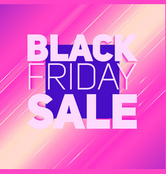 Black friday sale background with vector