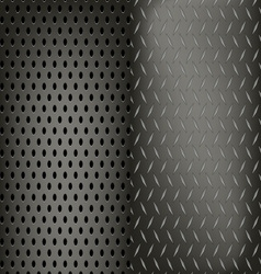 Metal dynamic pattern background vector