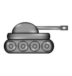 Panzer sign icon vector