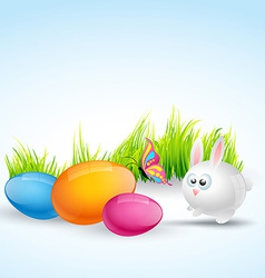 Colorful easter vector