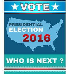 Vote - who is next banner vector