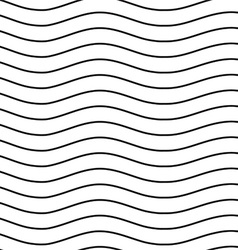 Universal seamless linear striped wave abstract vector