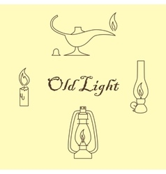 Old sources of light vector