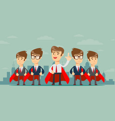 super business team vector image vector image