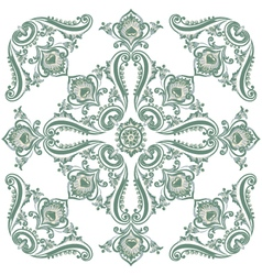 pattern green vector image