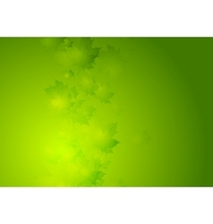 Abstract summer background with green vector