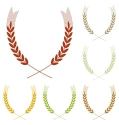 Wheat sign vector