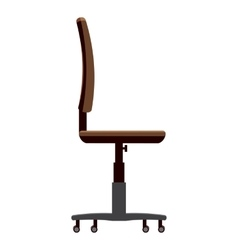 Chair for office icon cartoon style vector