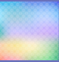 Abstract colorful geometric background in bright vector