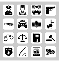 Criminal and prison vector image