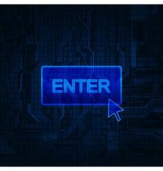 enter vector image vector image