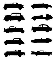 Retro cars vector