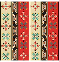 Navajo style pattern vector