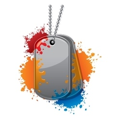 Painball tags vector
