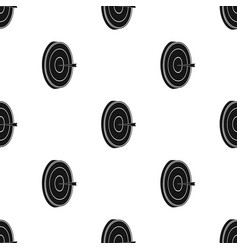 Darts icon in black style isolated on white vector