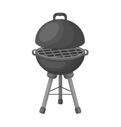Grill for barbecuebbq single icon in monochrome vector