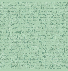 Old letter seamless pattern with textures and hand vector