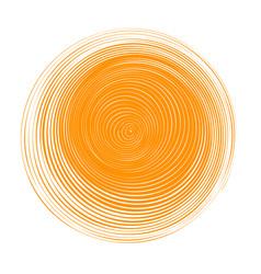 Abstract orange circle banner vector